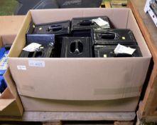 12x Metal wheel chocks NSN 2540-12-370-9813