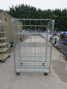 Mobile Wire Caged Trolley L 1200mm x W 800mm x H 1820mm