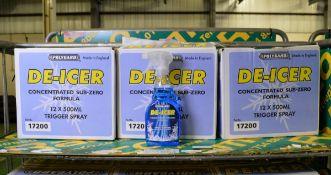 Polygard De-Icer 500ml trigger bottles - 12 per box - 3 boxes