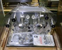 Bezzera Galatea commercial coffee machine