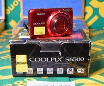 Nikon S6500 Digital Camera