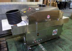 DCR Machines - Ultraviolet Sterilization machine - Model DCR UVC - Model number 1014 WAD -