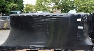 Vehicle caterpillar track shoe - L 7410mm x W 600mm x H 140mm