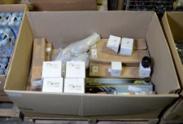 Vehicle parts - shock absorbers rear, MAF sensors, Vauxhall rear coil springs- see picture