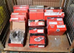 Vehicle parts - Mintex, Brembo brake discs - see pictures for models and types