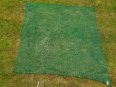 Golf chipping net 3.5m x 3.5m with mesh 2cm - appears unused with no damage