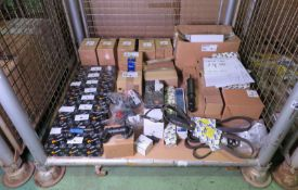 Vehicle parts - EGR valves, fuel injector pump, thermostat assembly, water pump, drive bel