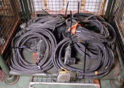 12v Battery Slave Starter Cables x7