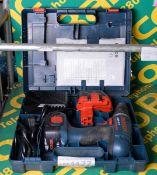 Bosch GSR 12V cordless drill - 2 batteries, 1 charger