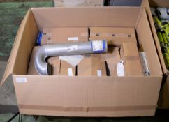 Vehicle parts - wheel bolts, 20ltr air tanks, brake discs, nuts, exhaust pipe - see pictur