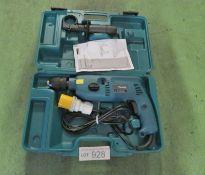 Makita HP2041 Portable Electric Hammer Drill 110v