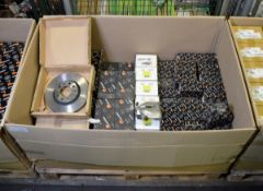 Vehicle parts - brake discs, brake calipers, brake pads, CV joint kit - see picture for it