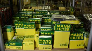 Vehicle parts - Mann air filters - see pictures for models and types