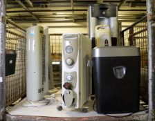 Domestic Electrical, Heater, Water Dispenser, Shredder