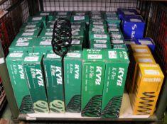 Vehicle parts - KYB K-flex, Anschler, Sachs coil springs