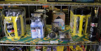 Rapid De-Icer, Triple QX De-Icer, Simoniz Acrylic Satin Black, Car tire repair kit, towing