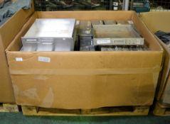Aluminium Drawers W 400mm x D 430mm x Various heights