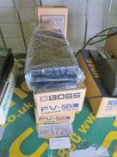 3x Boss FV-50L Volume pedals