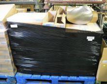 34x Aquarius Black Toilet Tissue Dispenser Units