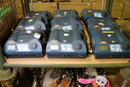 9x Coomber 6030 Series Twin Drive Real Time CD Recorders