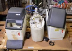 3x CaterParts Water Softener Units - AS SPARES OR REPAIRS