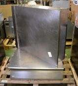 2x Electrolux Stainless steel Prep Tops L 800mm x W 910mm x H 250mm