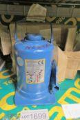 Weber hydraulik 12T bottle jack