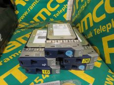 5x Seagate ST373453FC Hard Drives