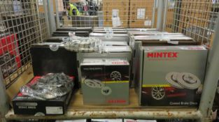 Vehicle parts - Drivemaster, Mintex brake discs - see pictures for models and types