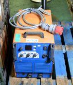 Newarc R5000 - 500amp welder with wire feeder, Newarc welder inverter MF37