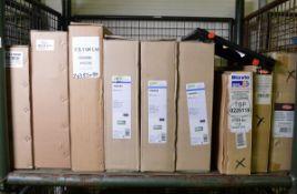 Vehicle parts - Radiators, Valeo fan assemblies, Delphi, Diavia condensers