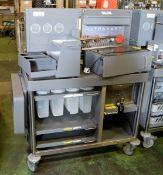 Ultrakart Breakfast Bar Caddy Unit Trolley