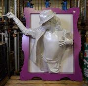 Michael Jackson 3 Dimensional picture - 1300mm x 1200mm