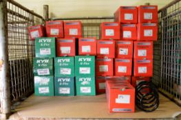 Vehicle parts - Drivemaster / KYB K-flex coil springs - see pictures for models and types