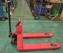 Mettler Toledo weigh scale pallet truck