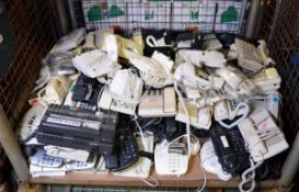 Various Office Phones, Answer Machines - approx 90