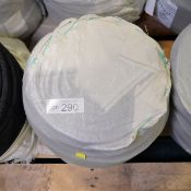 Black Fibrous Abseil Rope 220m x 11mm - 1 coil