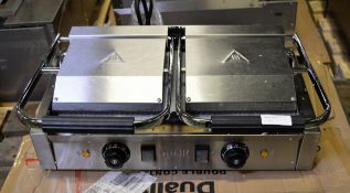 Dualit double contact grill RCG2 - 240V