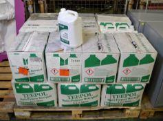 Teepol Multi Purpose Detergent 4x5 ltr Per Box - 20 boxes