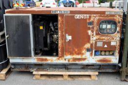 Hyundai DHY15KSE 11 KVA Diesel Generator - hours runs 2261