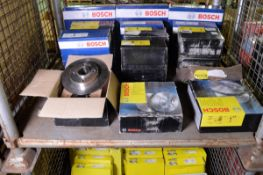 Vehicle parts - Bosch brake discs - see pictures for models and types