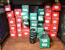 Vehicle parts - KYB, Drivemaster coil springs - see pictures for models and types