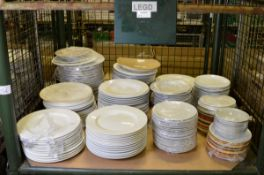 Various Ceramic Plates & Bowls