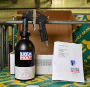 Liqui Moly paint spray bottle