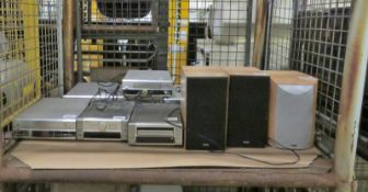 Denon TU-201SA AM-FM Stereo Tuner RDS Radio Text, Denon UDRA-M10 AM -FM Tuner Amplifier RD