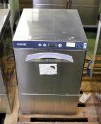 Maidaid glasswasher - GS401 - 2.9kW - 230V - 1ph - 50hz - W 440mm x D 520mm x H 675mm