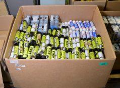 White grease FIXT spray cans, Carplan de-icer, Hycote grey primer spray cans