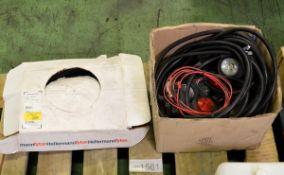 12V car trailer lights, spare parts