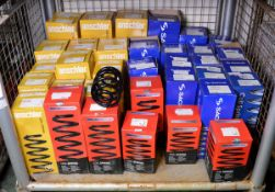 Vehicle parts - Anschler, Drivemaster, Sachs coil springs - see pictures for models and ty