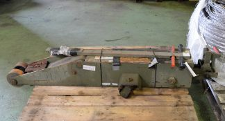 Arbil Jack Trolley - Serial No. - MJ0214.1 - NSN - 4190-99-801-2914